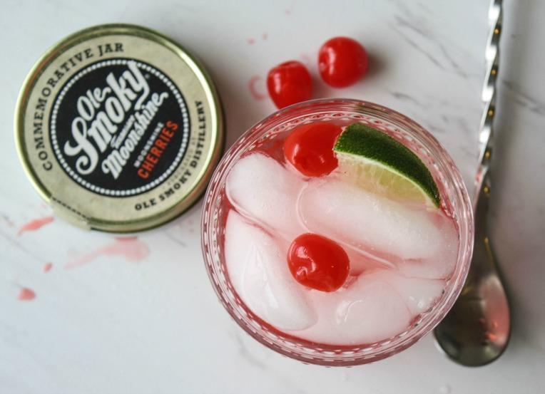 Cherry Limeade Cocktail 1