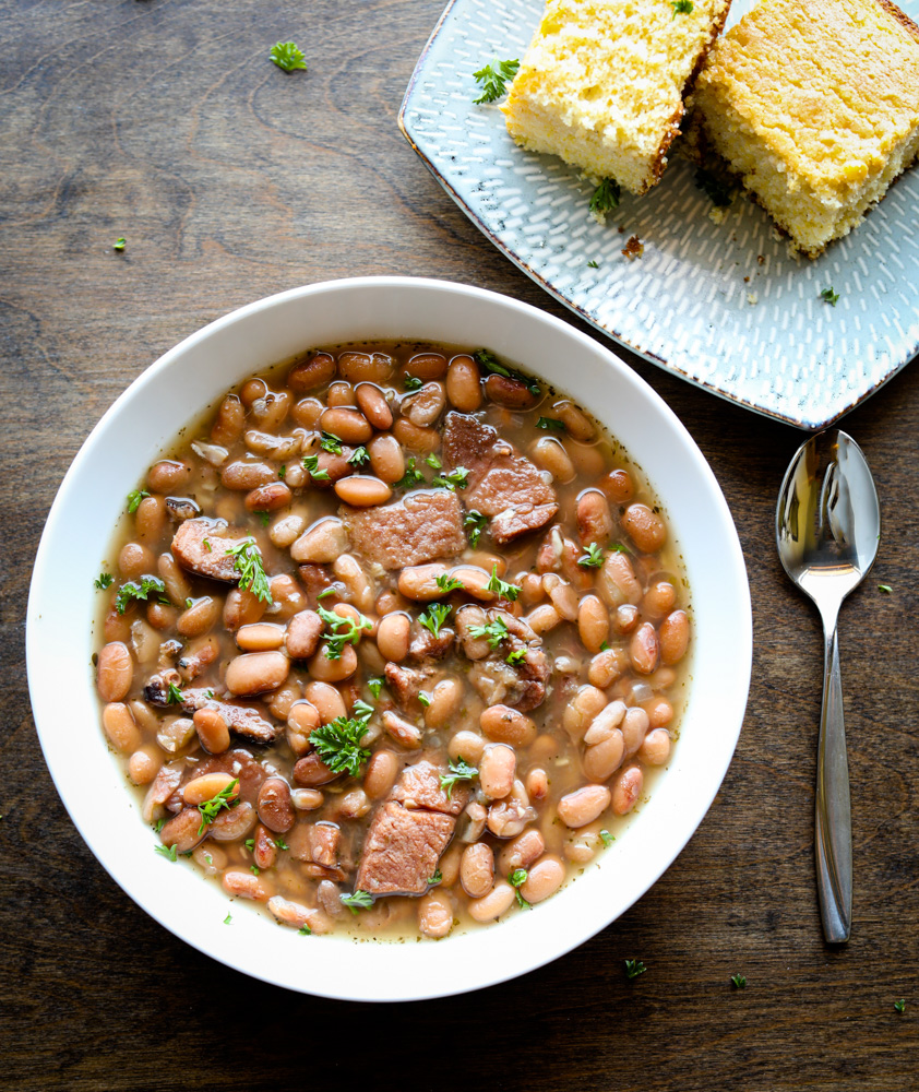 Instant Pot Pinto Beans and Ham
