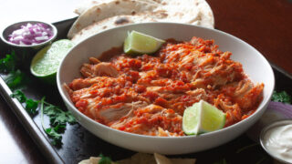 Instant Pot Salsa Lime Chicken Recipe