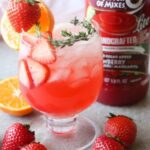 Prosecco Strawberry Cocktail