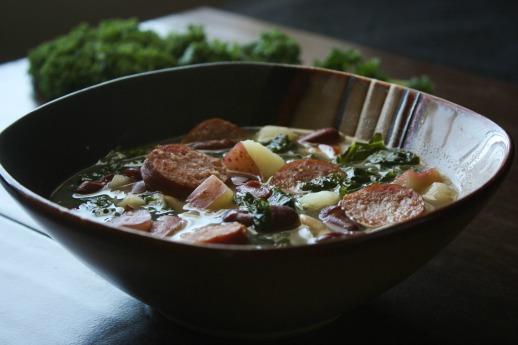 Sausage Kale Bean Soup 1