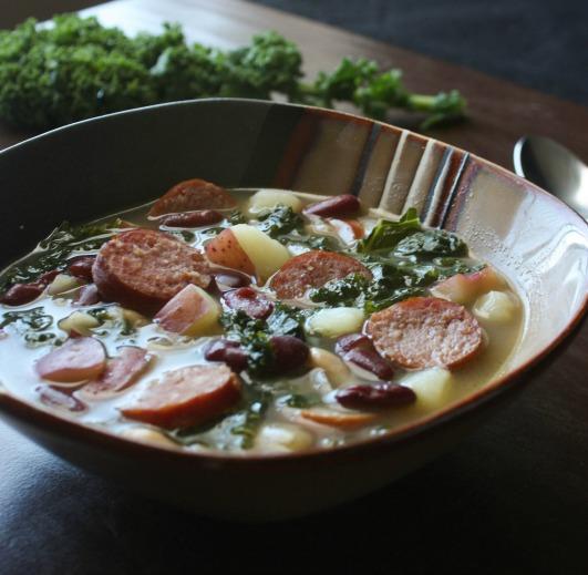 Sausage Kale Bean Soup 2