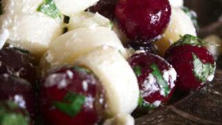 Hearts of Palm Grape Salad