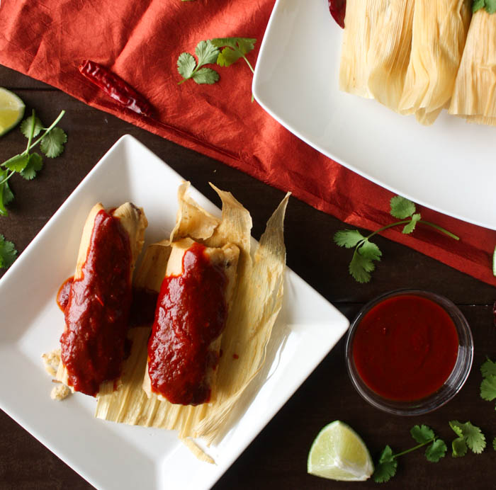 Instant Pot Tamales and a recipe for Red Chili Sauce for Tamales