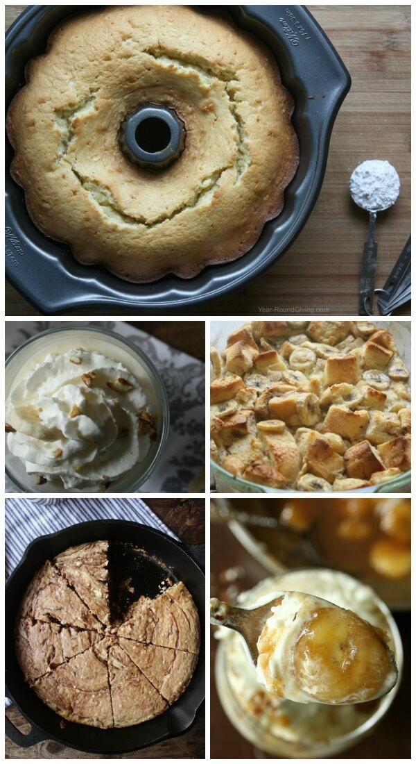 Dessert Recipes with Ripe Bananas
