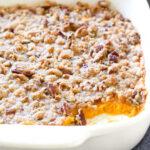 Sweet Potato Souffle with Pecans
