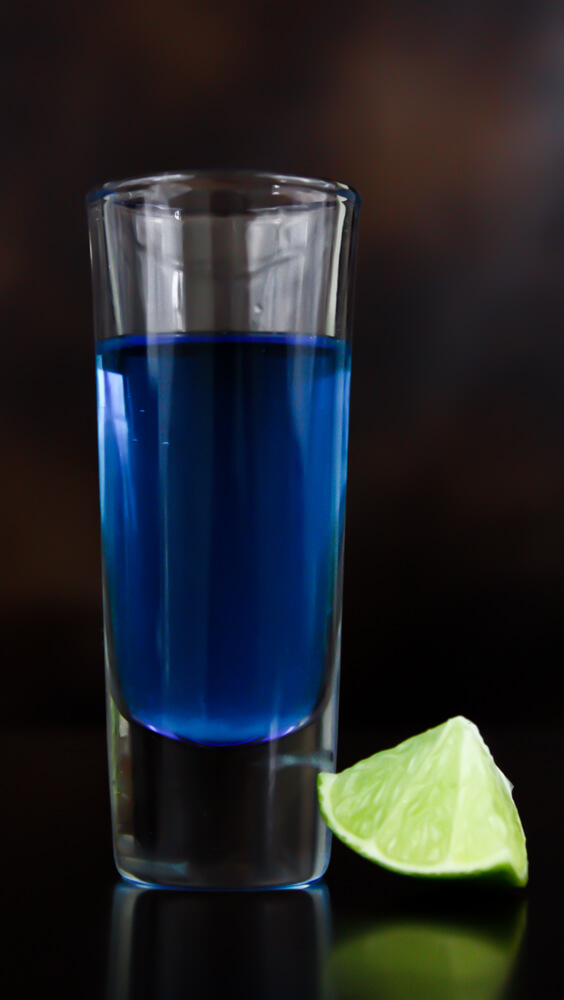 Blue Kamikaze Shot