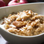 Crock Pot Oatmeal with Apples and Cinnamon 1