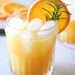 Orange Sparkling Wine Punch