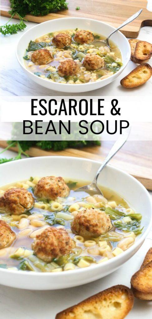 Escarole and Bean Soup