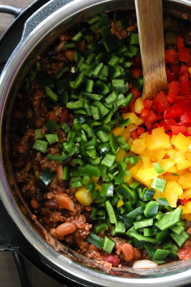 Instant Pot Chili Ingredients