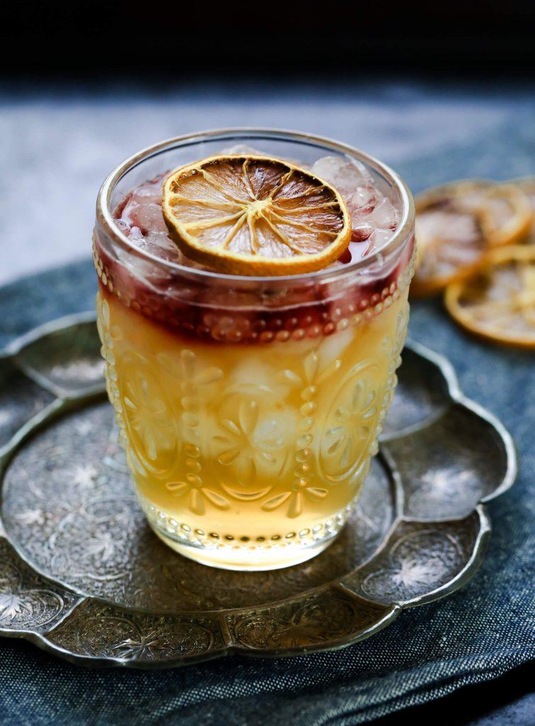 New York Sour Bourbon Cocktail