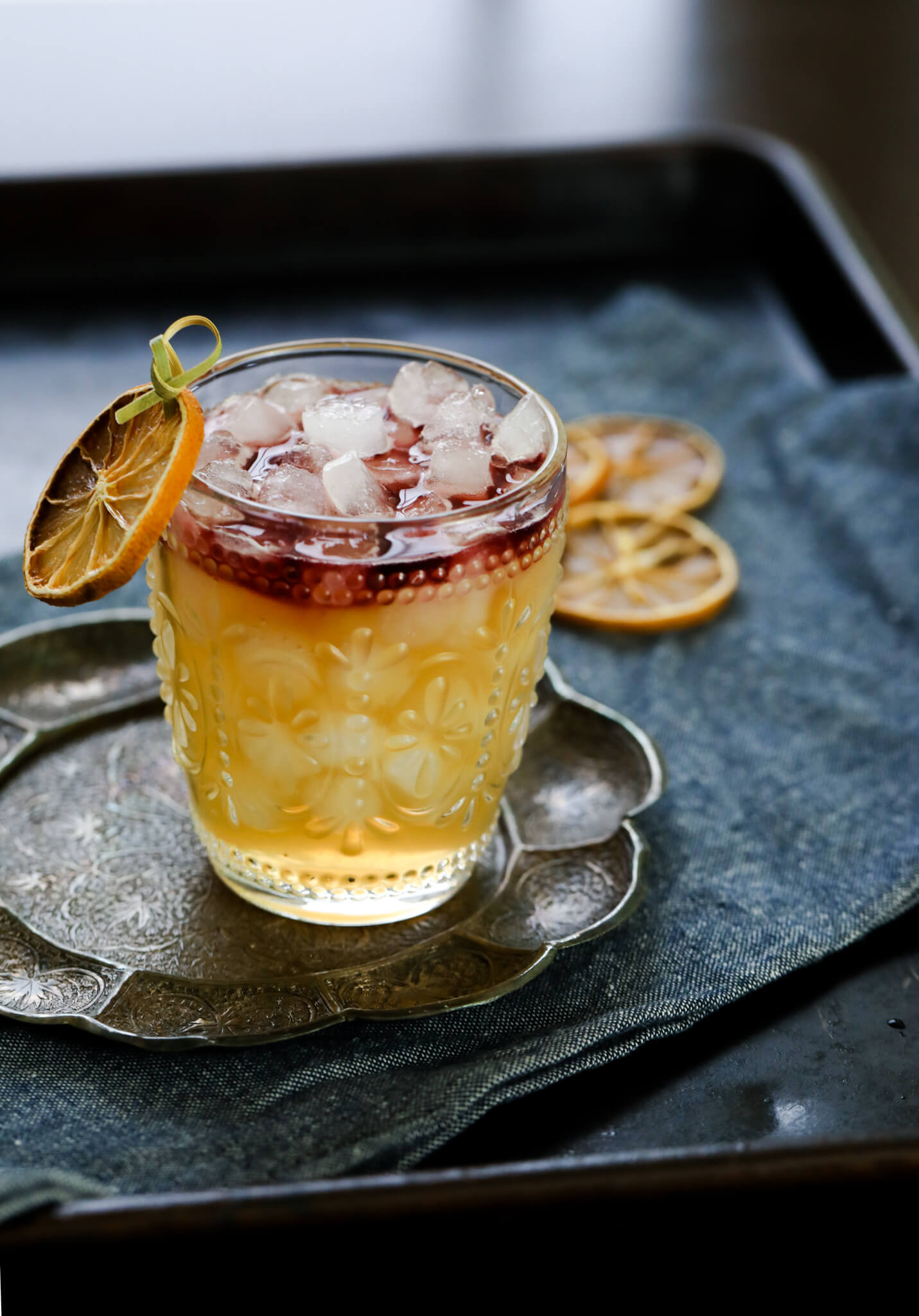 New York Sour With Spiced Pear Daily Appetite