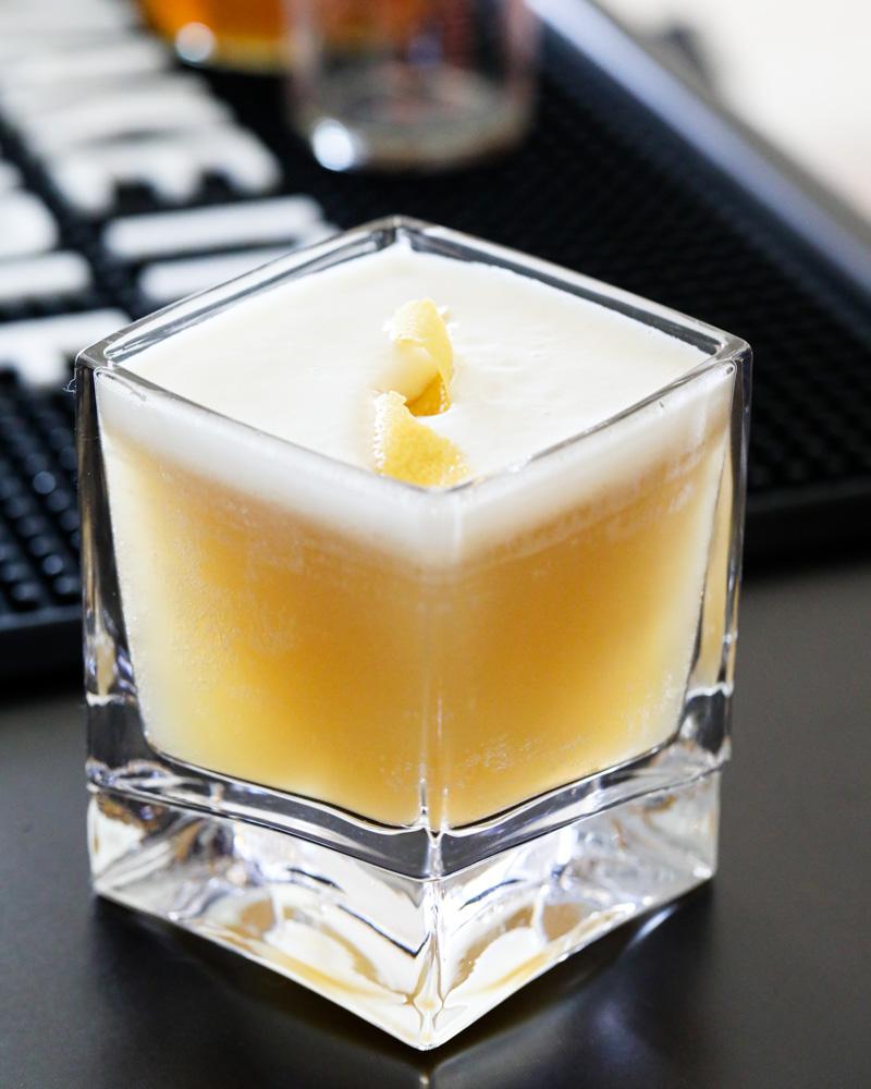 Bourbon Whiskey Sour