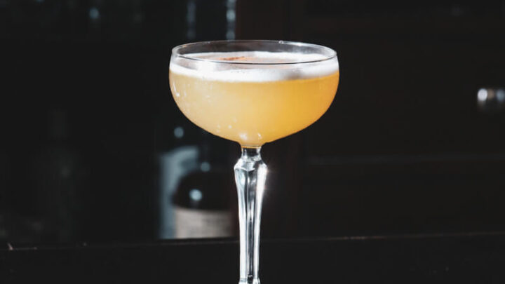Bourbon Amaretto Sour