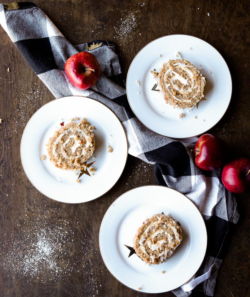 Apple Cake Roll 1