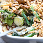 Green Bean and Brussel Sprout Casserole