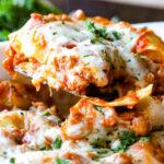 Easy Ravioli Lasagna 1