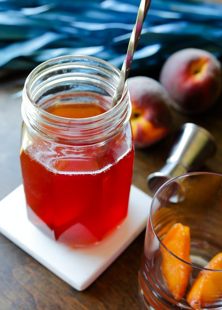 Peach Simple Syrup