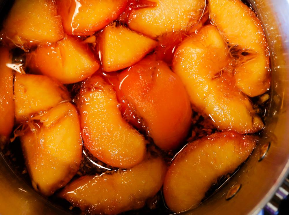 Peach Simple Syrup 4