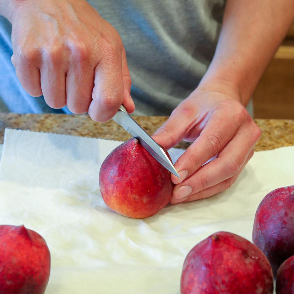 Peach Cobbler with Fresh Peaches 1