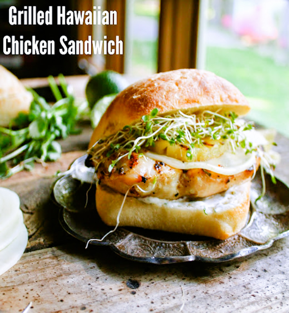 Hawaiian Grilled Sandwich
